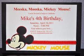 mickey mouse printable birthday invitations mickey mouse invitation template free party invitations ideas
