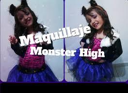 Clawdeen Monster High Halloween Costume by Maquillaje Clawdeen Wolf Monster High Youtube