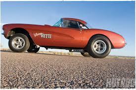 1957 corvette gasser rex marshall s 1957 chevy corvette rod
