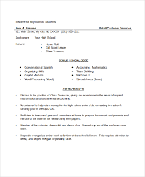 resumes for high students skills high resume 10 free word pdf psd documents download