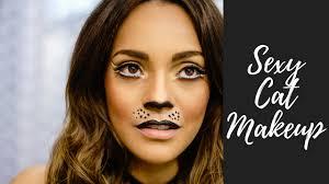 cat halloween makeup tutorial youtube
