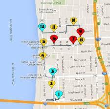 map of baton 5th annual baton parade 10 31 consortium