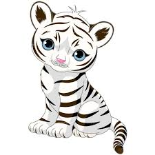 tiger clipart black and white free best tiger clipart