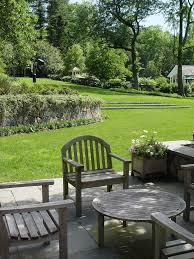 Sloping Backyard Ideas Sloped Backyard Ideas Landscape Farmhouse With Planters Gray Plant