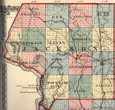 Illinois Map With Counties by Jackson County Illinois Maps And Gazetteers
