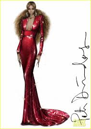 here are peter dundas u0027 sketches of beyonce u0027s grammys 2017