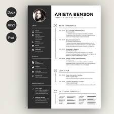 Cv Resume Example Contemporary Design Cv Resume Template Attractive Inspiration Free