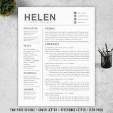 professional resume template for microsoft word u0026 mac pages