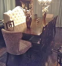 parsimonious décor darling creating an eclectic dining area