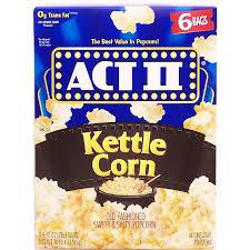 ii kettle corn old fashioned sweet u0026 salty popcorn 6 2 75 o16 5oz