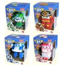 robocar poli transformer poli helly roy amber 4 types