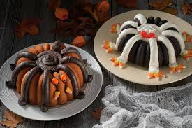 Halloween Bundt Cake Decorations by Halloween Spider Bundt Flourish King Arthur Flour