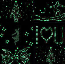 Glow In The Dark Home Decor Unbranded Glow In The Dark Décor Wall Stickers Art Ebay