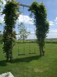Backyard Swing Set Ideas by Best 20 Garden Swing Sets Ideas On Pinterest Diy Swing Kids