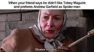 Shame On You Meme - shame on you raimimemes