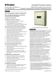 simplex 4190 9007 system information