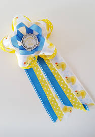 rubber ducky baby shower corsage mommy to be pin baby shower mum