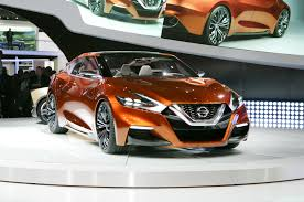 Next Generation Maxima Nissan Ssc Previews Nissan Maxima At 2014 Detroit Show Motor Trend
