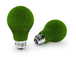 eco friendly light bulbs eco friendly green grass light bulbs on white back stock