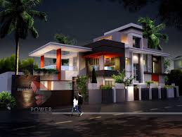 fresh modern house design and floor plan 1049