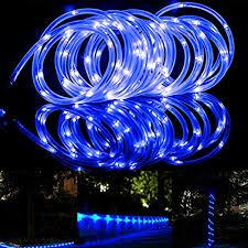 outdoor 100 guirlande solaire cordon lumineux extérieur 12 m fil