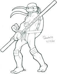 teenage mutant ninja turtles coloring pages leo raphael colouring