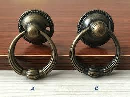 vintage cabinet door knobs vintage look dresser drawer pulls handles knobs ring drop pull