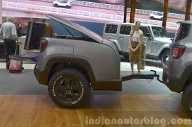 gray jeep renegade interior jeep renegade hard steel concept trailer indian autos blog