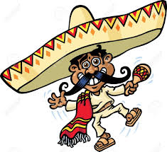 cartoon sombrero taco clipart mexicano pencil and in color taco clipart mexicano