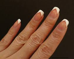 i relish nail polish chevron french with beverly hills plum