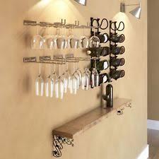 2 ikea rationell variera under cabinet mount wine glass rack