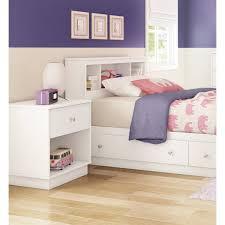 Purple Bookcase South Shore Litchi Twin Bookcase Headboard U0026 Reviews Wayfair