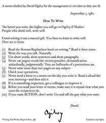 david ogilvy be concise u0026 precise when you write the expert editor