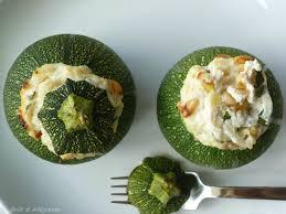 cuisiner des courgettes rondes courgettes rondes farcies à la ricotta goût allégresse