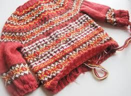 baby s fair isle sweater seamstresserin designs