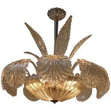 Murano Chandeliers For Sale Mid Century Barovier U0026 Toso Murano Glass Chandelier 1stdibs Com