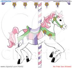 carousel horse clipart many interesting cliparts