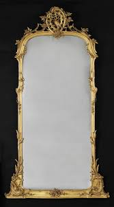 Mirrors On The Wall by A Very Fine Carved Giltwood Mirror German Circa 1780 Mirror
