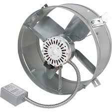 2000 cfm exhaust fan gable mounted attic exhaust fans exhaust fans ideas