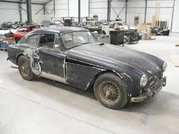 vintage aston martin rare barn find aston martin db 2 4 to be restored just british
