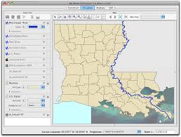Map Of Louisiana by Getting To Know Classification In My World