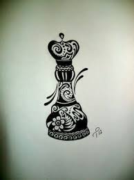 chess piece as a fractal tattoo cerca con google aqui