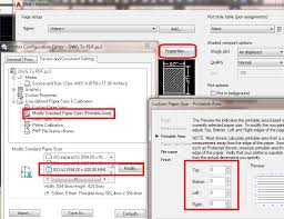 printable area change solved printing plotting issues in autocad 2017 autodesk community