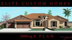 House Plans 3000 Sq Ft 3 000 Sq Ft Plan Youtube