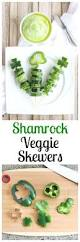 shamrock veggie skewers two healthy kitchens