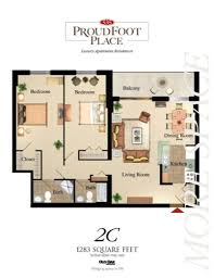 Apartments In London Ontario  Proudfoot Place Luxury Apartments - Two bedroom apartment london