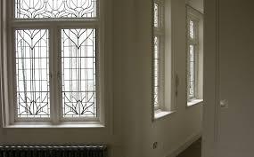 art nouveau stained glass windows bradley basso studio