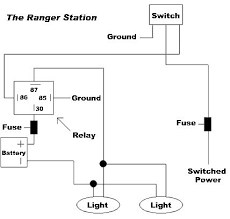 using relays to wiring off road lights and accessories wiring