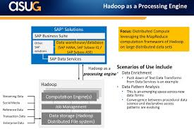 pattern analysis hadoop using hana and hadoop key scenarios part 2 asug big data webcast