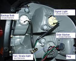 hyundai santa fe tail light assembly hyundai santa fe rear fog light modification